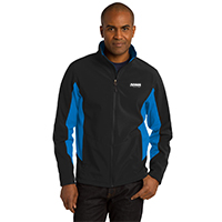 Port Authority Men's Core Colorblock Soft Shell Jacket - 12 piece minimum