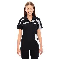 Ladies North End Performance Color Block Polo
