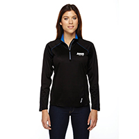 Ladies North End Long Sleeve 1/4 Zip