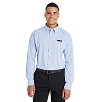 Devon & Jones   Men's CrownLux Performance Micro Windowpane Shirt