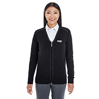 Devon & Jones Ladies Manchester Full-Zip Sweater
