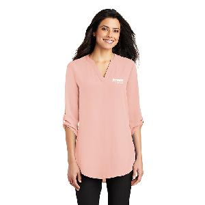 Port Authority Ladies 3/4-Sleeve Tunic Blouse