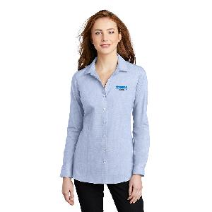 Port Authority Ladies Pincheck Easy Care Shirt