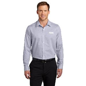 Port Authority Pincheck Easy Care Shirt